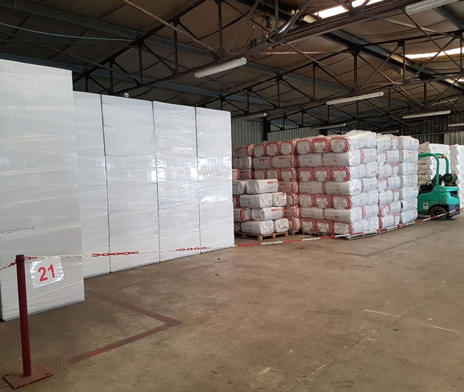 entrepot stockage isolation t2m