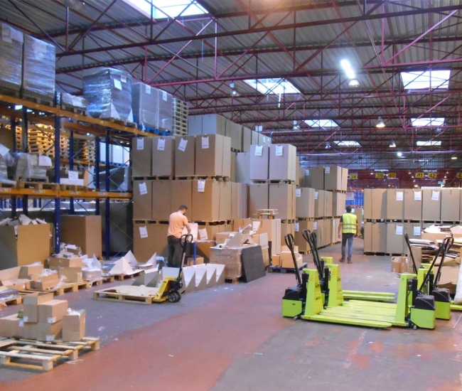 preparation commande logistique